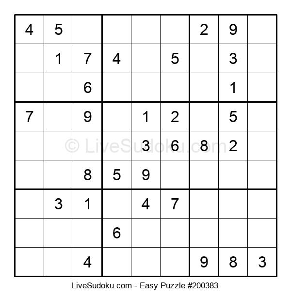Beginners Puzzle #200383