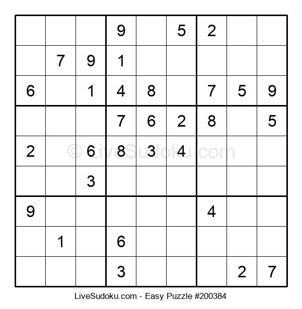 Beginners Puzzle #200384