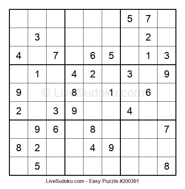 Beginners Puzzle #200391