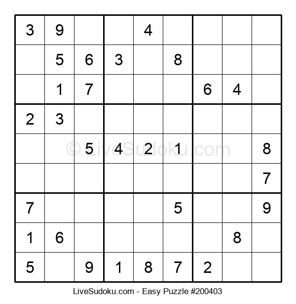 Beginners Puzzle #200403