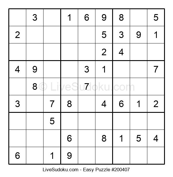 Beginners Puzzle #200407