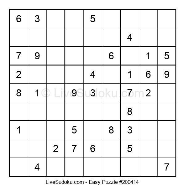 Beginners Puzzle #200414