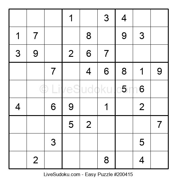 Beginners Puzzle #200415