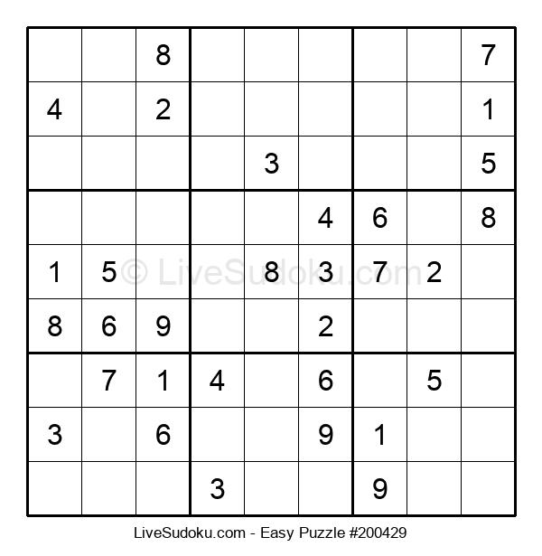 Beginners Puzzle #200429
