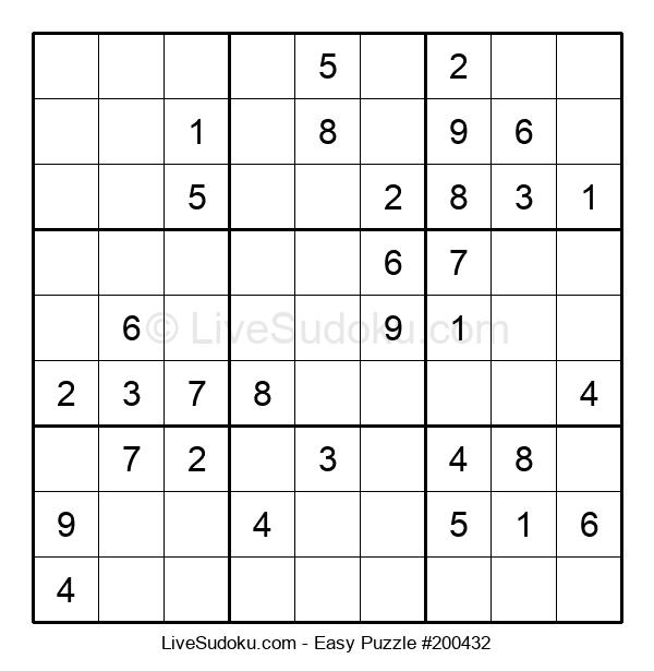 Beginners Puzzle #200432