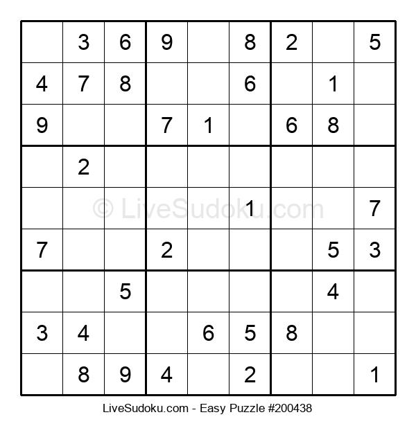 Beginners Puzzle #200438