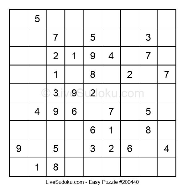 Beginners Puzzle #200440