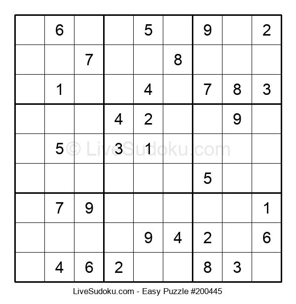 Beginners Puzzle #200445