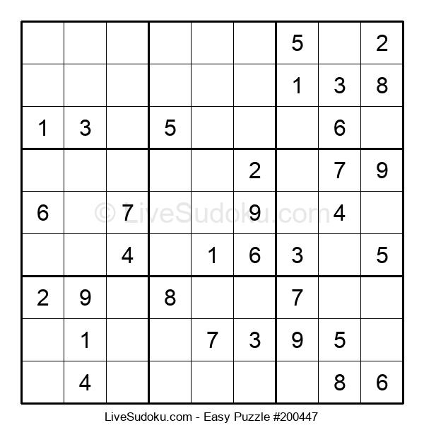 Beginners Puzzle #200447
