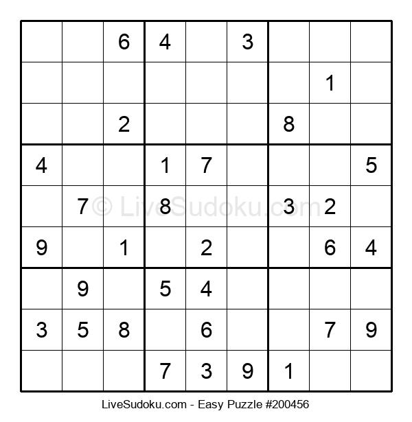 Beginners Puzzle #200456
