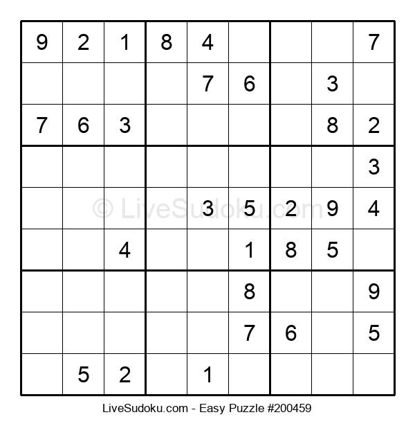 Beginners Puzzle #200459