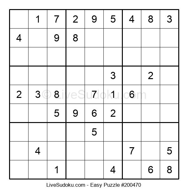 Beginners Puzzle #200470