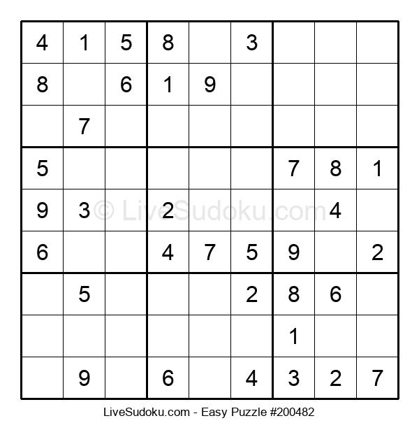 Beginners Puzzle #200482