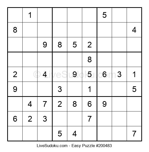 Beginners Puzzle #200483