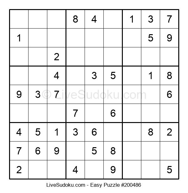 Beginners Puzzle #200486