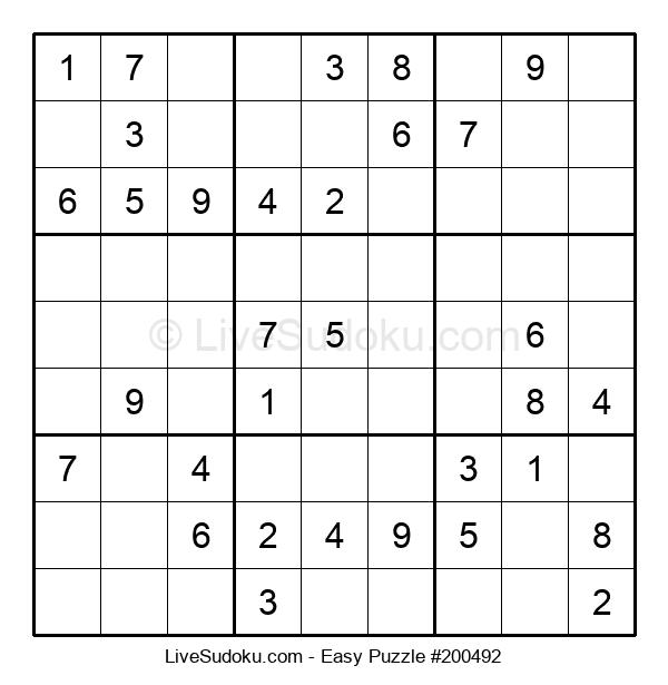 Beginners Puzzle #200492