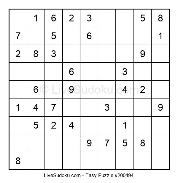 Beginners Puzzle #200494