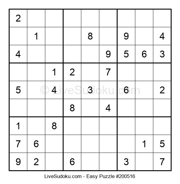 Beginners Puzzle #200516