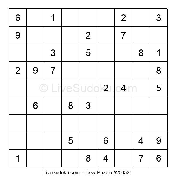 Beginners Puzzle #200524