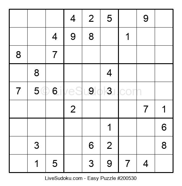 Beginners Puzzle #200530