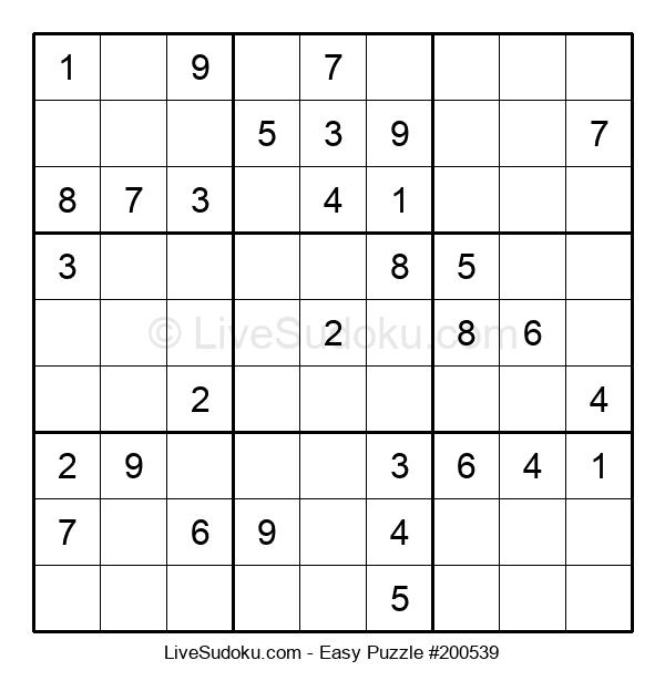 Beginners Puzzle #200539