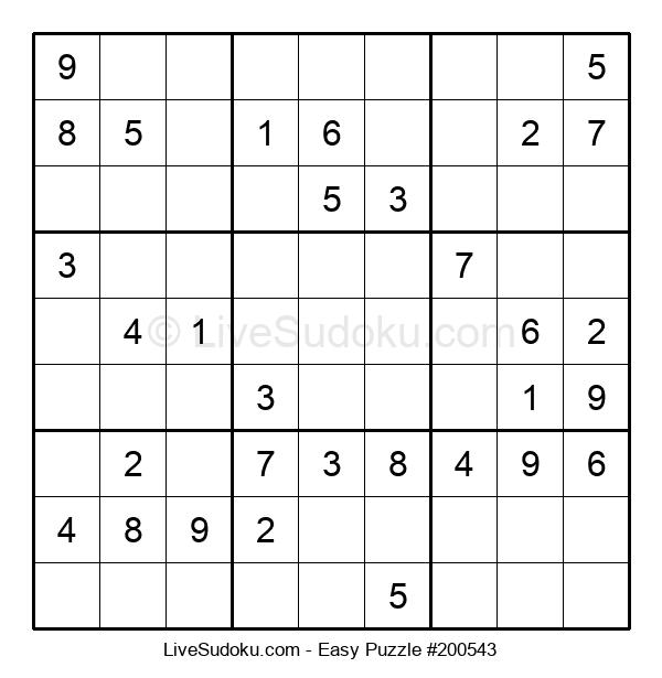Beginners Puzzle #200543