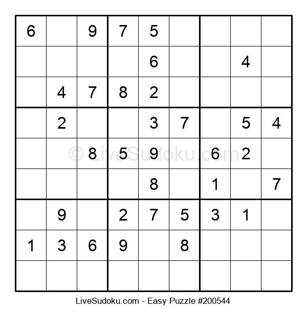 Beginners Puzzle #200544