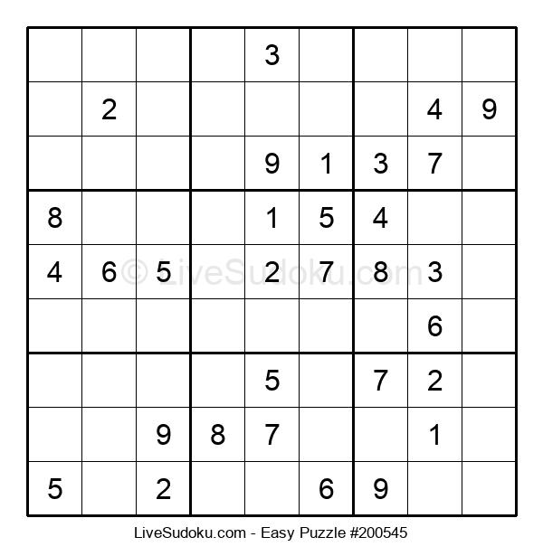 Beginners Puzzle #200545