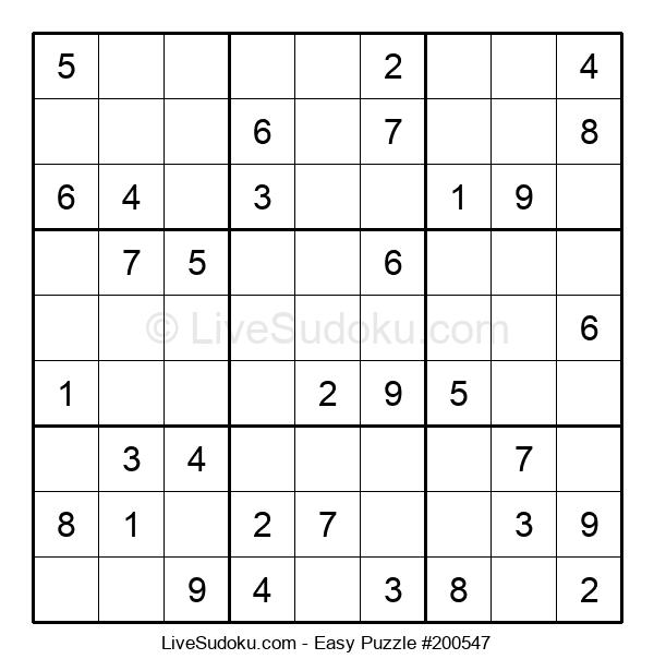 Beginners Puzzle #200547