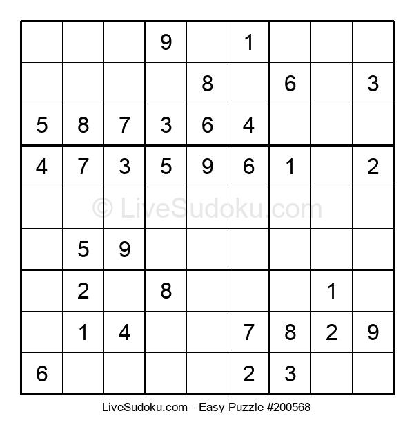 Beginners Puzzle #200568