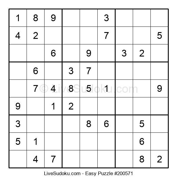 Beginners Puzzle #200571