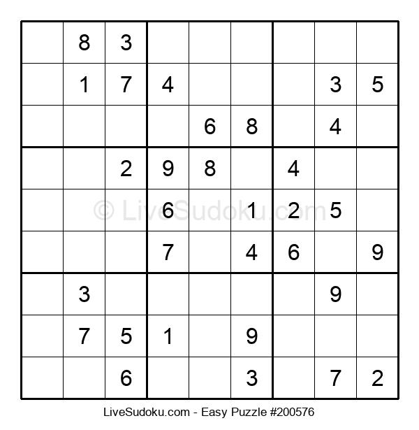 Beginners Puzzle #200576