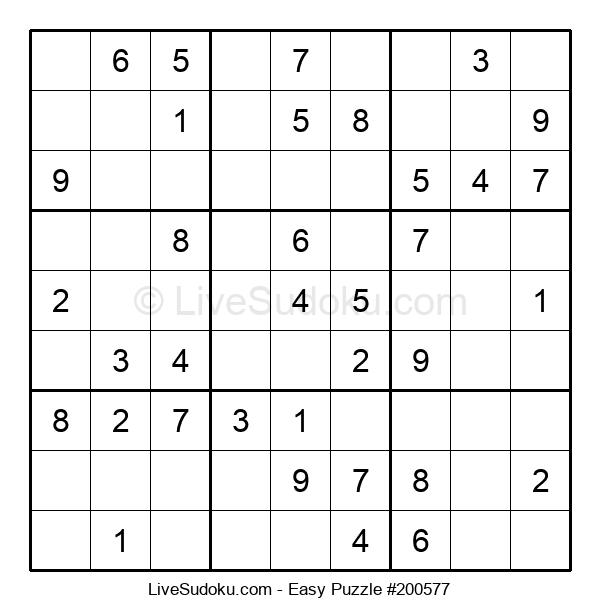 Beginners Puzzle #200577