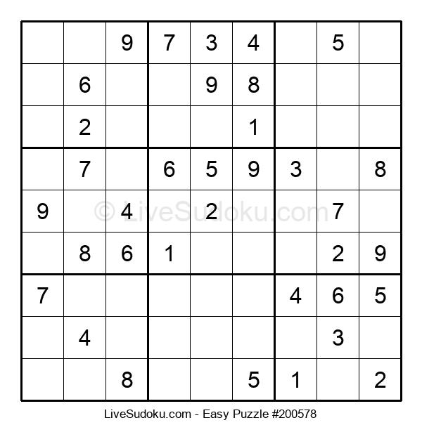 Beginners Puzzle #200578