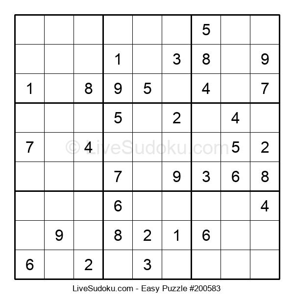 Beginners Puzzle #200583