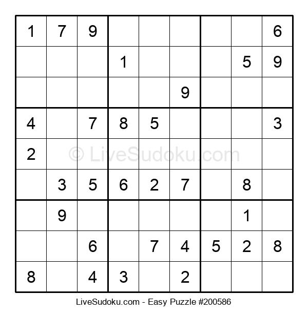 Beginners Puzzle #200586