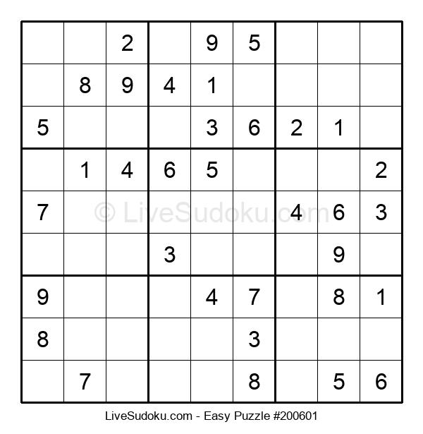 Beginners Puzzle #200601