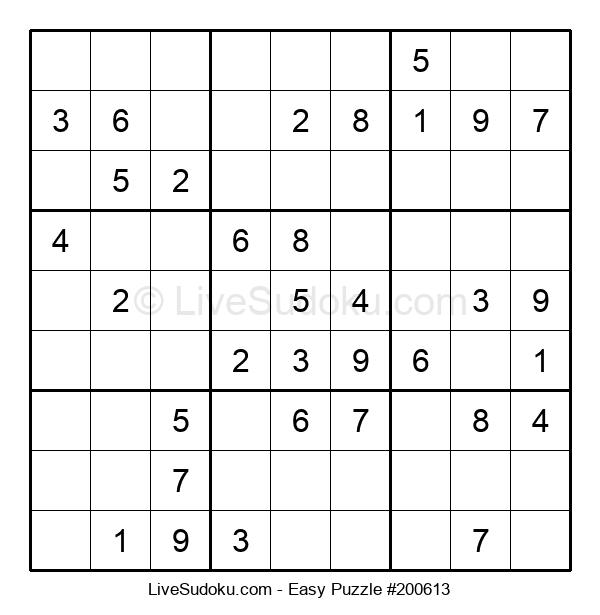Beginners Puzzle #200613