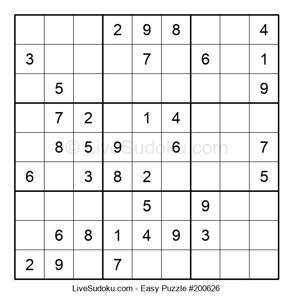 Beginners Puzzle #200626
