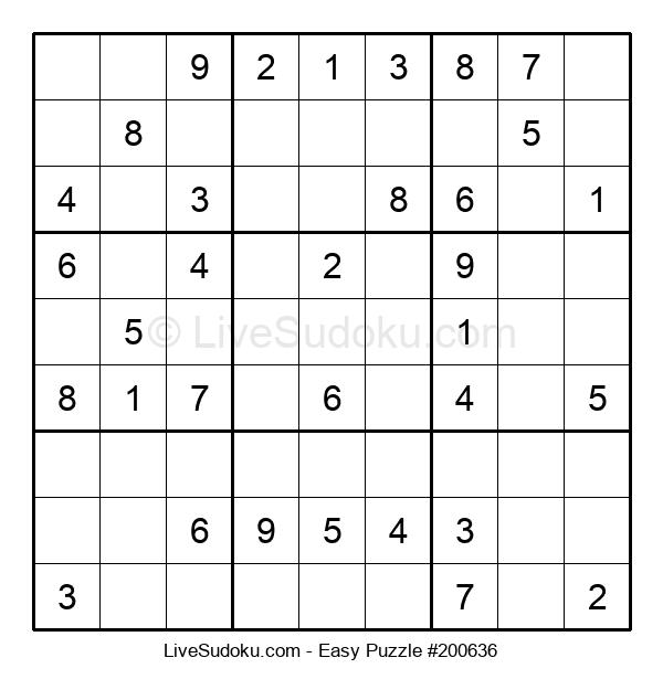 Beginners Puzzle #200636
