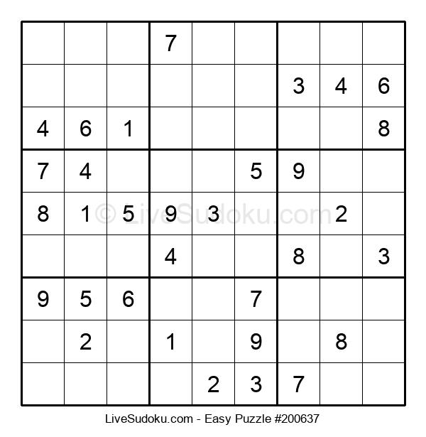 Beginners Puzzle #200637