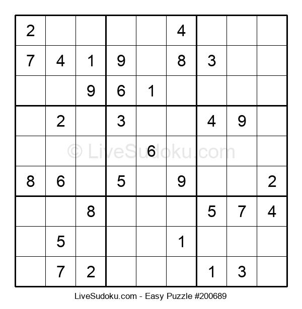 Beginners Puzzle #200689