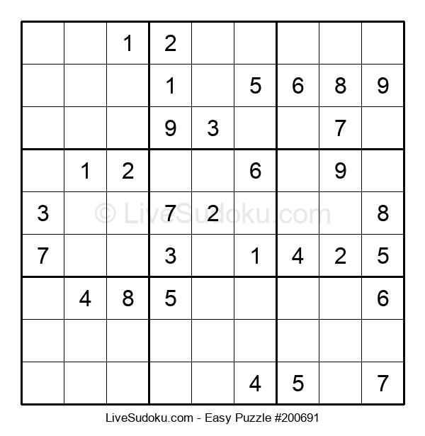 Beginners Puzzle #200691