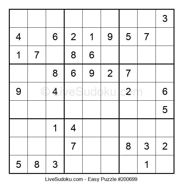 Beginners Puzzle #200699