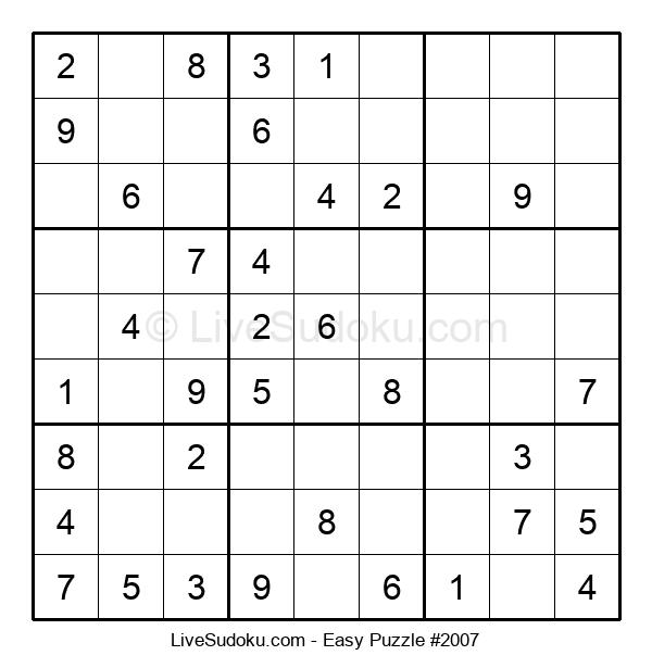 Beginners Puzzle #2007
