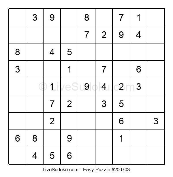 Beginners Puzzle #200703
