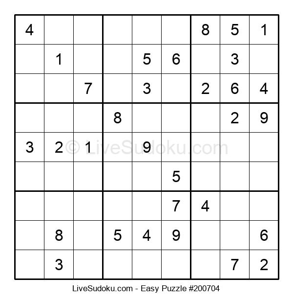 Beginners Puzzle #200704