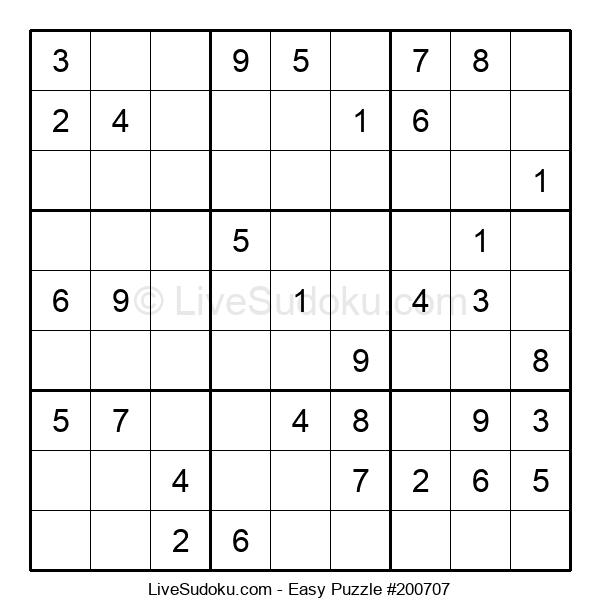 Beginners Puzzle #200707