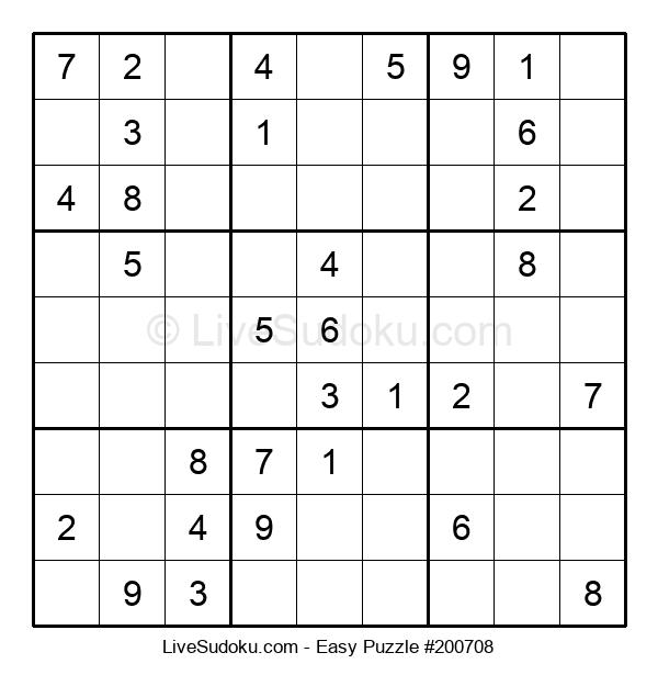 Beginners Puzzle #200708