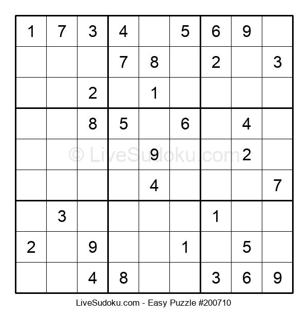 Beginners Puzzle #200710